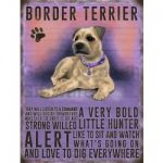 Border Terrier - Hanging Metal Sign-0