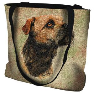 Border Terrier Tote Bag -0