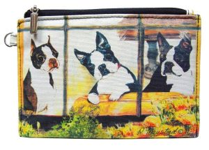 Boston Terrier - Zippered Pouch-0