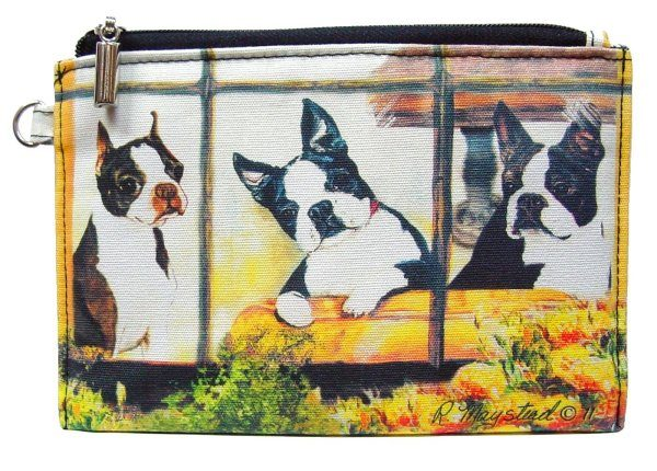 Boston Terrier – Zippered Pouch-0