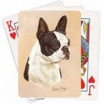 Boston Terrier - Deck of Playing Cards-0