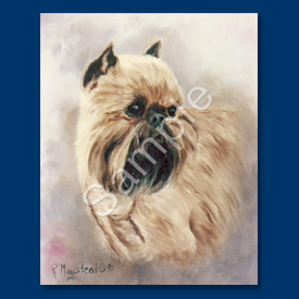 Brussels Griffon- 6 pack Note Cards-0