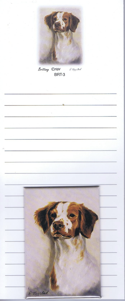 Brittany – List Pad & Magnet Combo-0