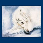 Borzoi- 6 pack Note Cards-0