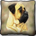 Bullmastiff Tapestry Cushion Cover-0