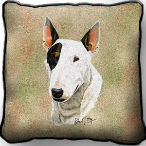 Bull Terrier - Tapestry Cushion Cover-0