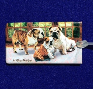 Bulldog Luggage Bag Tag-0