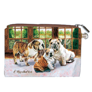 Bulldog - Zippered Pouch-0
