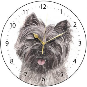 Cairn Terrier - Clock-0