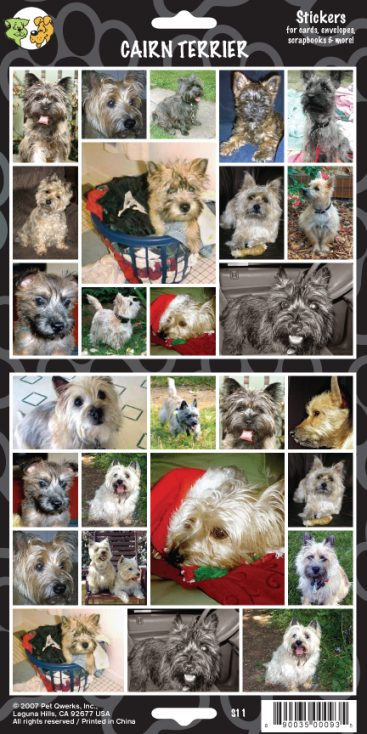 Cairn Terrier - Stickers-0