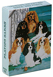 Cavalier King Charles Spaniel - Deck of Playing Cards-0