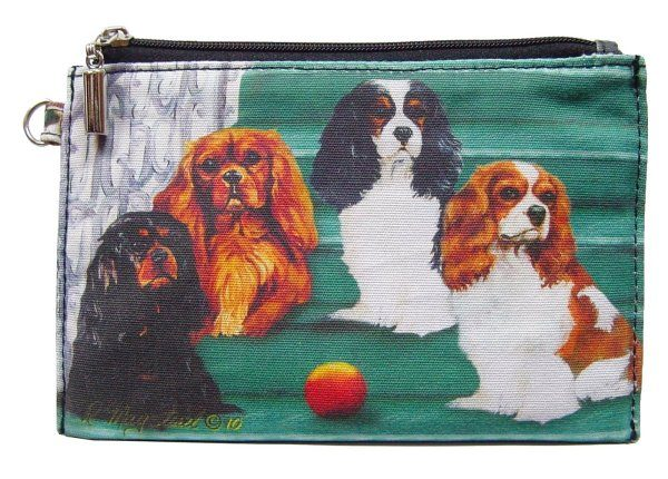 Cavalier King Charles – Zippered Pouch-0