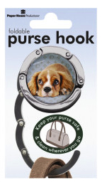 Cavalier King Charles Spaniel - Foldable Purse Hook-0