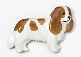 Cavalier King Charles Hand Painted Pin-0