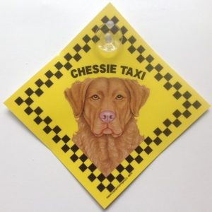 Chessie (taxi) Suction Sign-0
