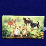 Chihuahua Luggage Bag Tag-0