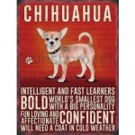 Chihuahua- Hanging Metal Sign-0