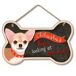 Chihuahua Ears Looking at you Kid- Hanging Sign-0
