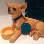 Chihuahua with Bowl Figurine-0