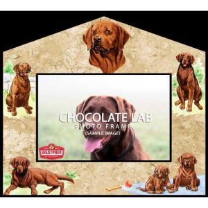 Labrador -Chocolate Photo Frame-0