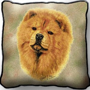 Chow Chow Tapestry Cushion Cover-0