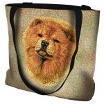 Chow Chow Tote Bag-0