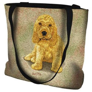 Cocker Spaniel Puppy - Tote Bag-0