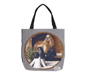 Cocker Spaniel Tapestry Tote bag-0