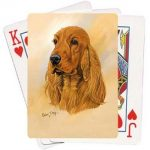 Cocker Spaniel - Deck of Playing Cards-0
