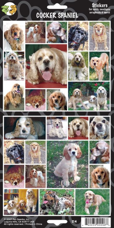 Cocker Spaniel - Stickers-0
