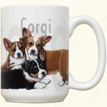 Welsh Corgi Puppies Mug-0