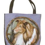 Rough Collie Tapestry Tote bag-0