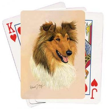 Collie - Deck of Playing Cards-0