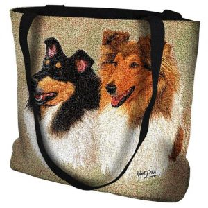Rough Collie- Tote Bag-0