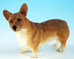 Welsh Corgi Dog Figurine -0