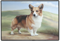 Welsh Corgi Door Mat-0