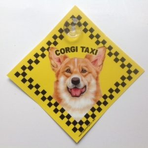 Corgi (taxi) Suction Sign-0