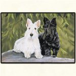 Scottish Terrier Door Mat-0