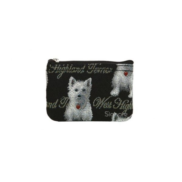 West Highland Terrier Zip Coin Purse-0
