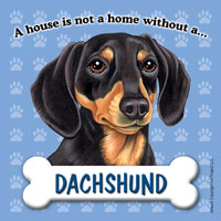 Dachshund - Fridge Magnet-0