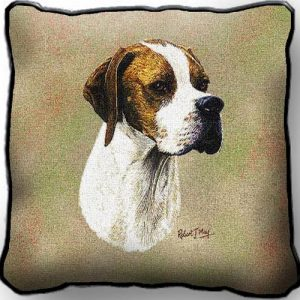 English Pointer Tapestry Cushion Cover-0