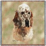 English Setter Tapestry Throw-0