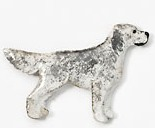 English Setter Hand Painted Pin-0