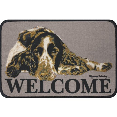 English Springer Spaniel  Coir Door Mat-0