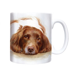 English Springer Watercolour- Chunky Mug-0