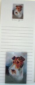 Fox Terrier – List Pad & Magnet Combo-0