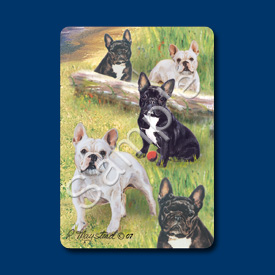 French Bulldog - Deck of Playing Cards-0