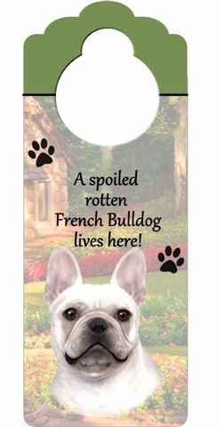 French Bulldog Door Knob Sign-0