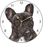 French Bulldog - Clock-0