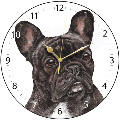 French Bulldog  – Clock-0
